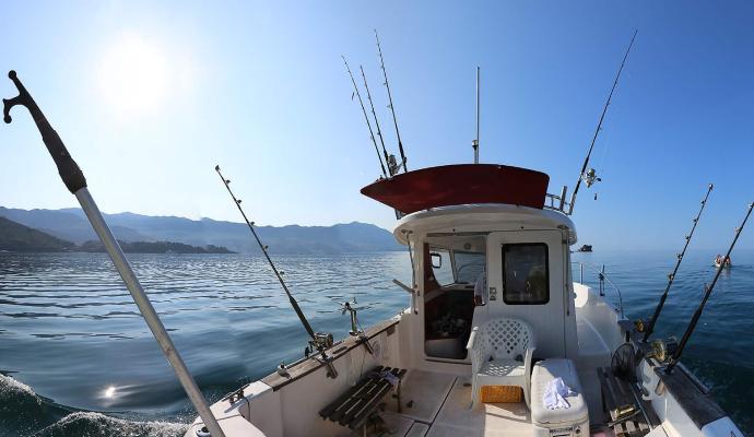 Рыбалка морская