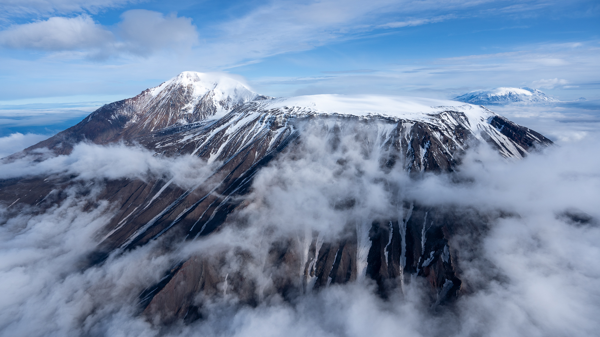 Kamchatka from volcanoes and the mountains