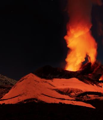 Climbing volcanoes